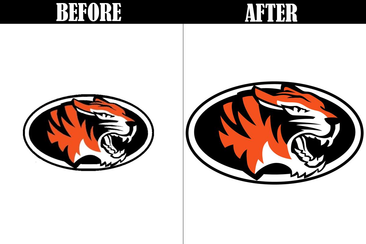 Logo to vector conversion