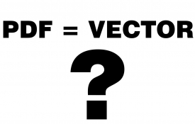 Is a PDF a vector file?